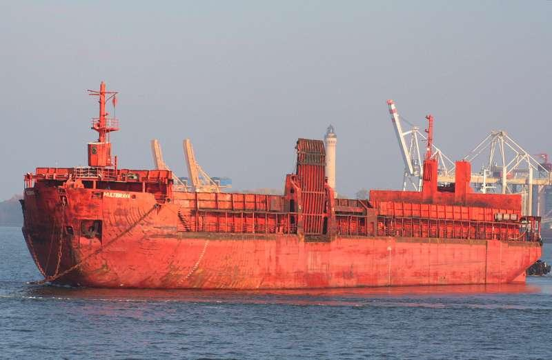 101m Dry Cargo Barge 1969 - German Built - Side Ramp - DWT 10295 For Sale