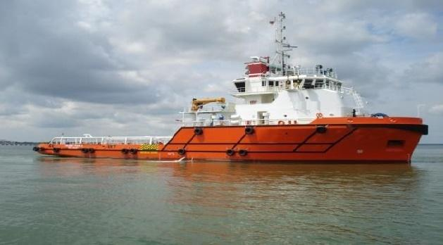 60m AHTS 2008 - FIFI 1 - Clear Deck Space 390 m2 - DWT 1400 For Sale