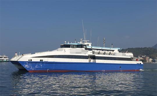 36m Catamaran High Speed Ferry 2005 - 360 PAX - 31 Knots For Sale