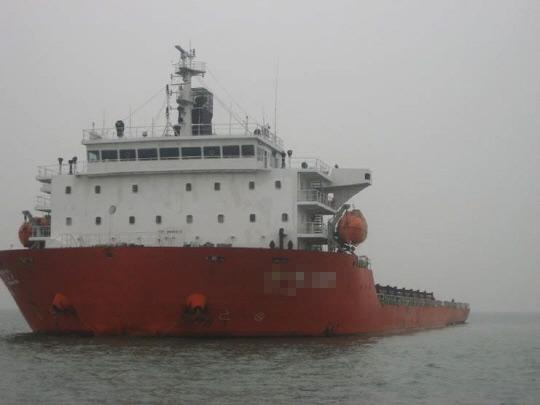 136m Self Propelled Barge 2012 - Twin Screw - Bow Thruster - DWT 12449 For Sale
