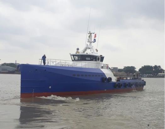 41m Crew Boat 2018 - 4 X CAT - 90 PAX - 18 Knots For Sale