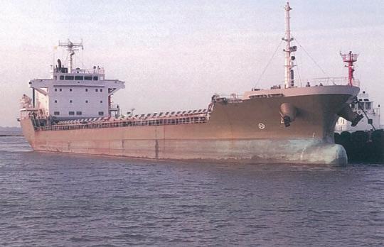 123m Sand Carrier 2007 - Japan Built - 5157 CBM - DWT 9395 For Sale