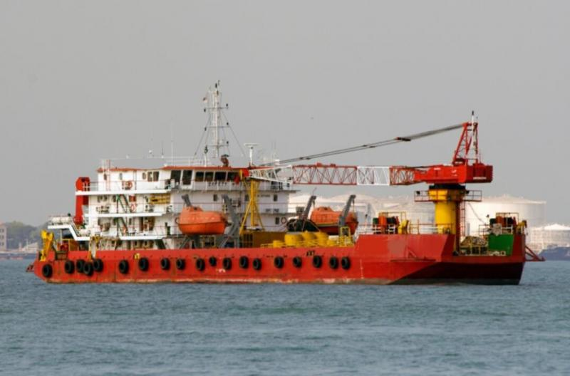 70m Self Propelled Accommodation Work Barge 2003 - 120 PAX For Sale