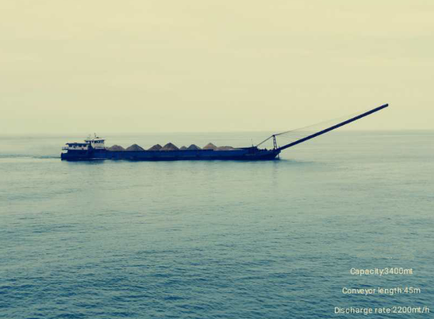 86m Self Unloading Sand Barge 2018 - DWT 3400 For Sale
