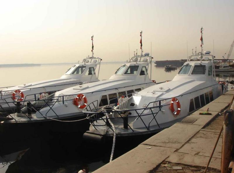 16m X 2 Catamaran Crew Boats 2011 - 20 Knots - Water Jet For Sale