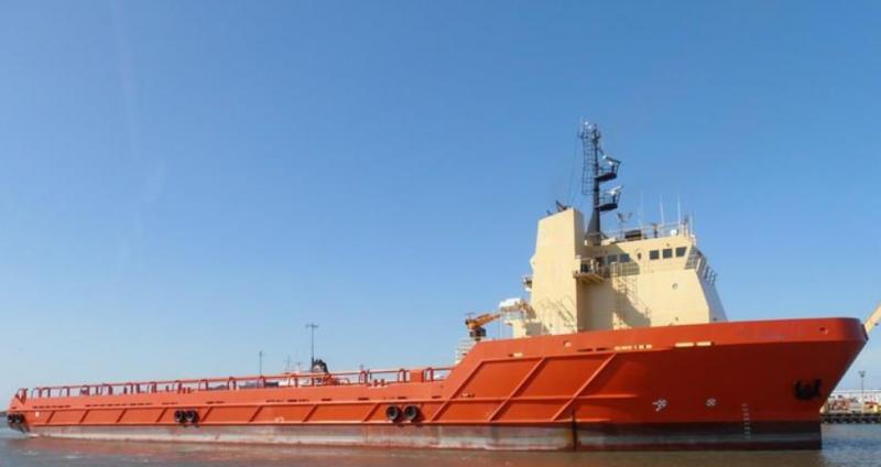 300' DP2 Offshore OSV Platform Supply Vessel 2003 - DWT 4869 For Sale