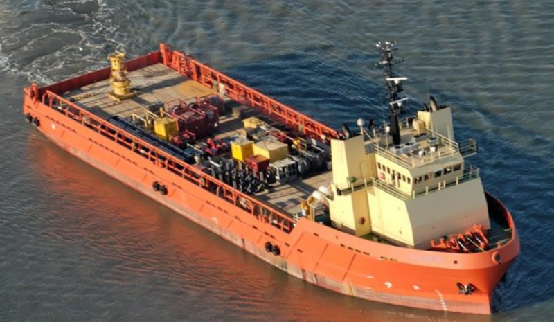 280' DP2 Offshore OSV Platform Supply Vessel 2004 - DWT 4977 For Sale