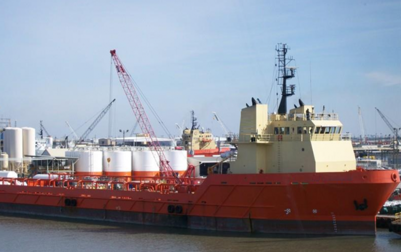 280' DP2 Offshore OSV Platform Supply Vessel 2005 - DWT 4771 For Sale