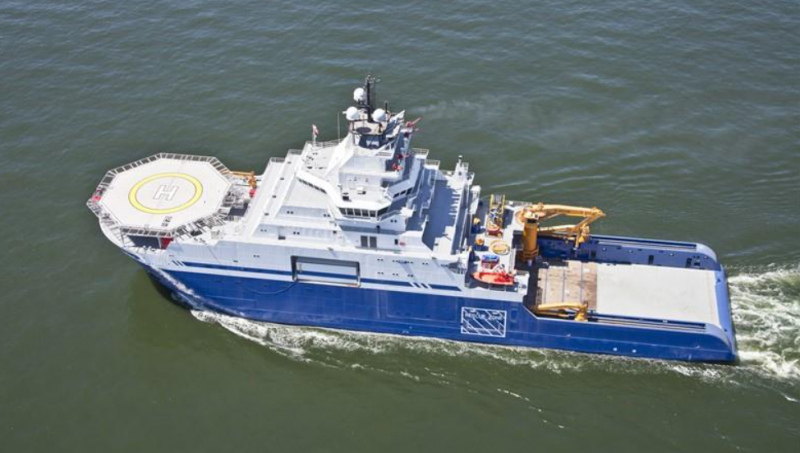 360' DP2 Icebreaker AHTS Multi Purpose Accommodations 2012 - BHP 21776 For Sale