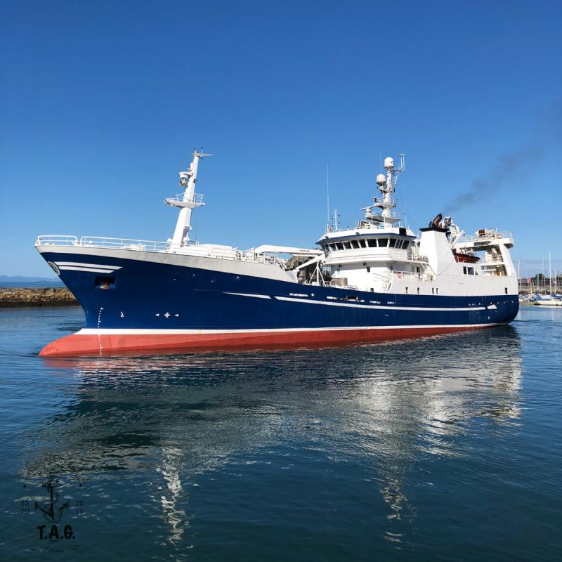 65m Purse Seiner/Pelagic Trawler 2003 - Thrusters - Hold 1650 M3 For Sale