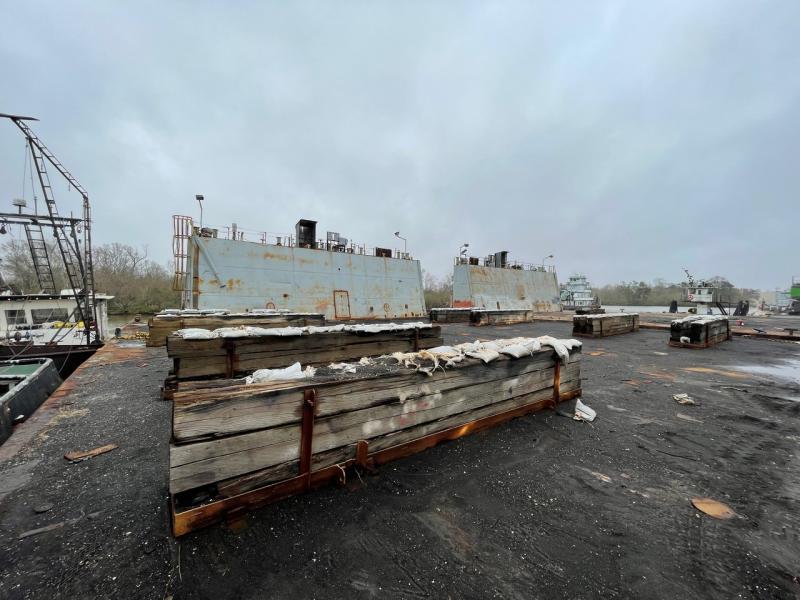 105' x 160' Drydock 3000 TLC For Sale