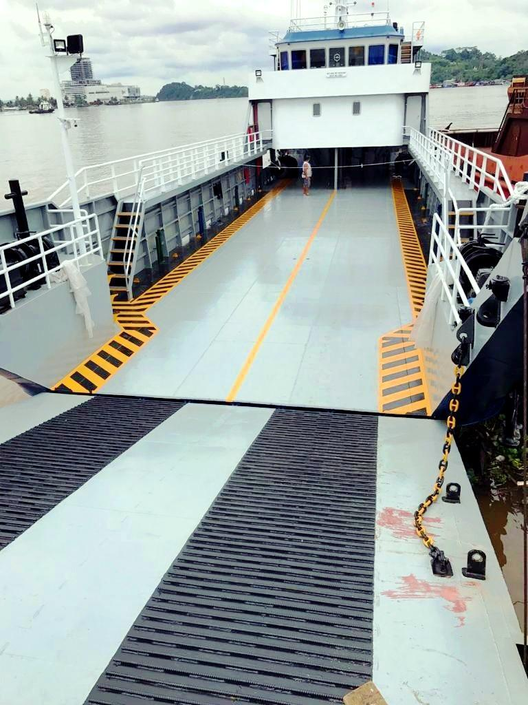 49m Landing Craft New Build 2021 - 120 Pax + 20 Cars  $1.8M For Sale