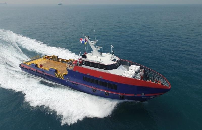 39m Newbuilding Crew Boat 2020 - 75 PAX - Bow Thruster - Deck 110 m2 For Sale