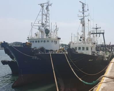 41m Stern Trawlers 1993 Korea Built - CBM 172,000 For Sale