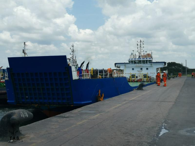 76m Container Landing Craft - Deck Strength 13mt/m2 For Sale