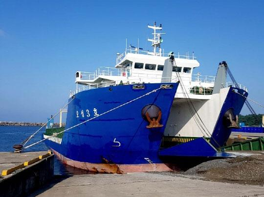 91m Self Propelled Barge 2018 - Deck 8T sqm - Bulbous Bow - DWT 4838 For Sale