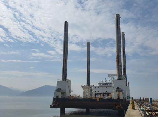 56m Jack Up Barge 2016 - Hyundai Built - 4300 TLC For Sale