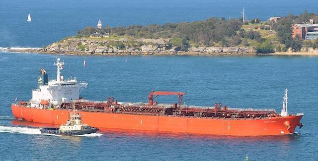 180m MR 2 Tanker 2005 - Methanol Carrier - 52941 CBM - DWT 45663 For Sale