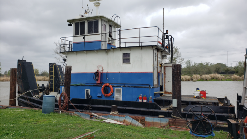 41ft. Inland Push Tug 1959 - BHP 600 For Sale.