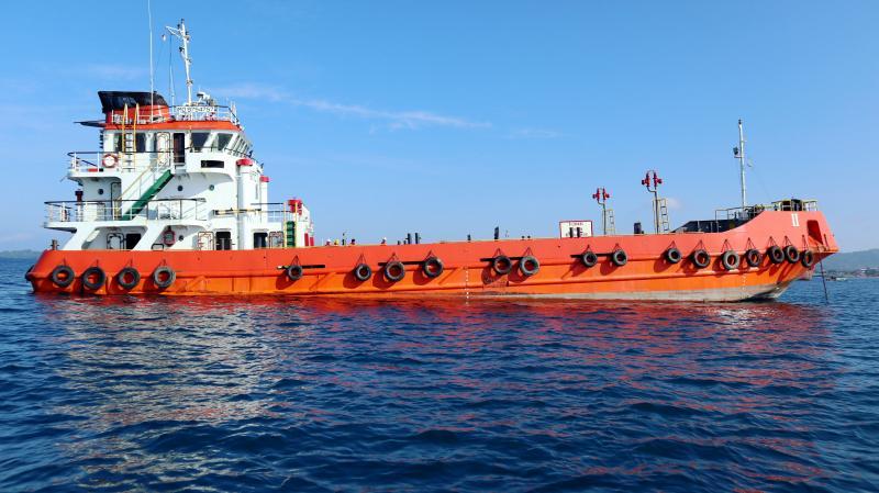 45m Self Propelled Oil Barge SPOB 2013 - Capacity 400 KL For Sale