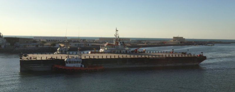 85m Heavy Equipment Transport Deck Cargo Barge DWT 7007 - 2011 For sale