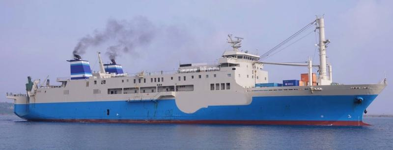 1140m ROPAX Roll On Passenger Vessel 1999 For Sale