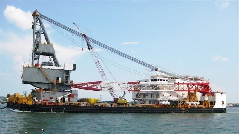 92m Accommodation Derrick Barge 2009 - 300 Man For Sale