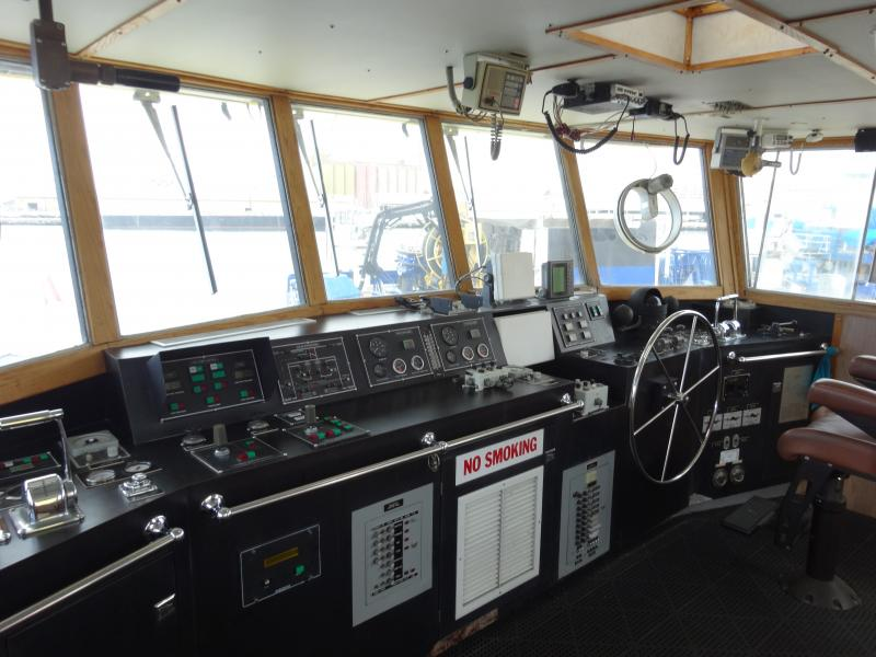 110' Moss Marine Firefighting Vessel 1990 Fast Crew Supply For Sale