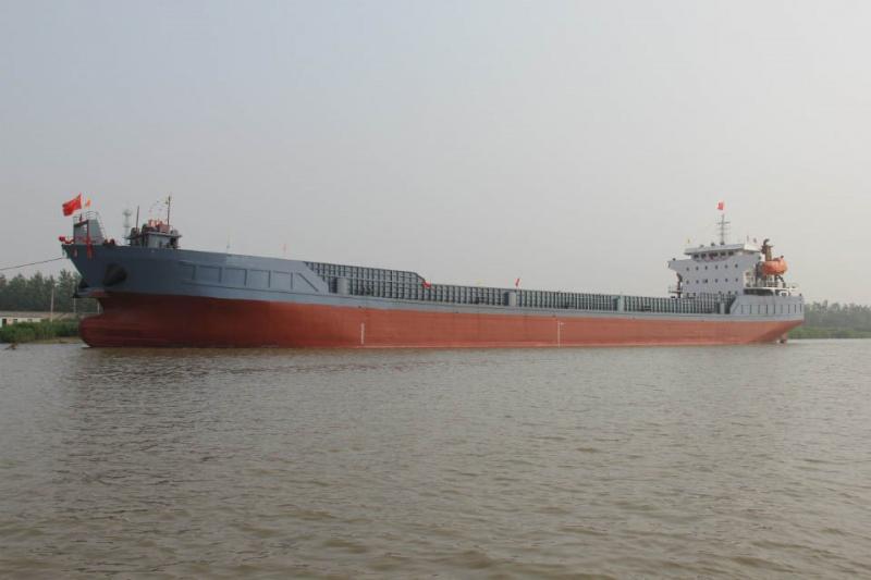 122m Landing Craft Barge 10,000 DWT Bulk Cargo w Ramp Door For Sale