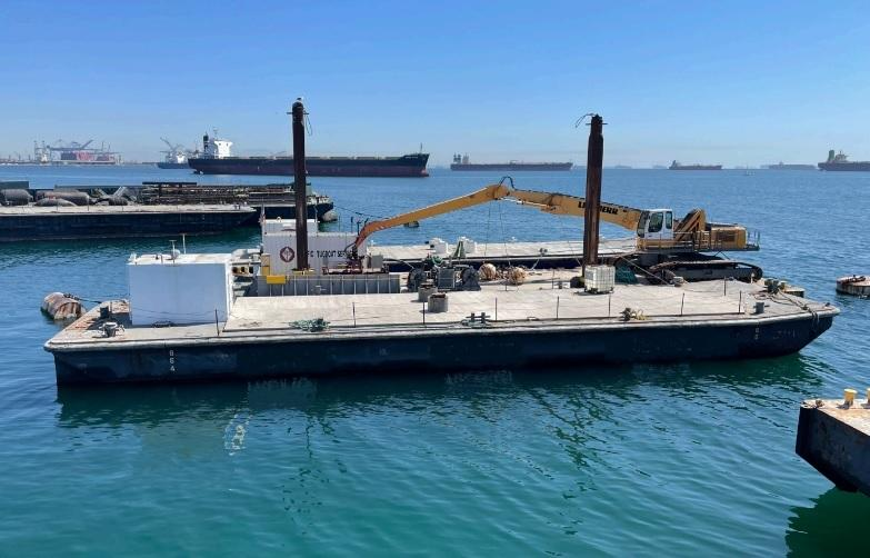105' Tank Deck Barge 75,000 gal capacity - Double Hull - 2 Available